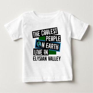 Camiseta Para Bebê As pessoas as mais frescas na terra vivem no vale