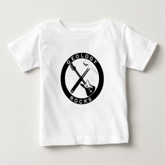Camiseta Para Bebê As rochas da geologia serão bebês