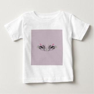 Camiseta Para Bebê Asas pintadas anjo