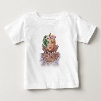 Camiseta Para Bebê Asas quebradas