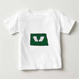 Camiseta Para Bebê Asas resistentes de Norht Dakota