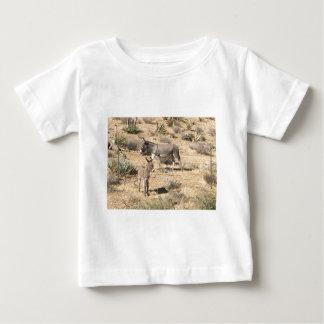 Camiseta Para Bebê Asno vermelho do nanovolt do parque estadual da