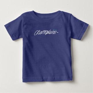 Camiseta Para Bebê Assinatura 1608 de Québec Samuel de Champlain