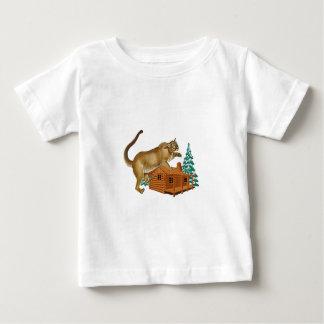 Camiseta Para Bebê Ataque súbito da cabine