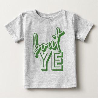 Camiseta Para Bebê Ataque YE, dialecto irlandês do norte do