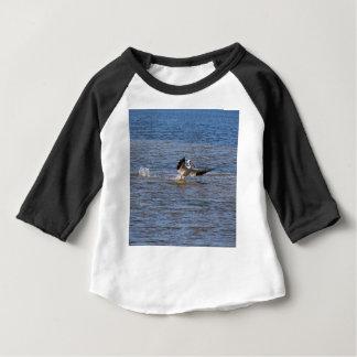 Camiseta Para Bebê Aterragem do pelicano