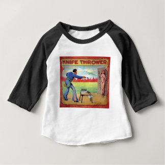 Camiseta Para Bebê Atirador da faca