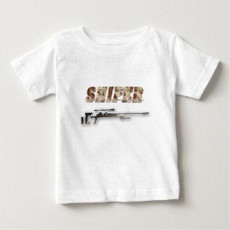 Camiseta Para Bebê Atirador furtivo