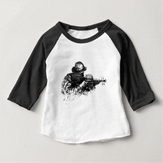 Camiseta Para Bebê atirador furtivo do violino