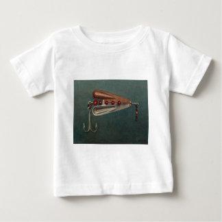 Camiseta Para Bebê Atração da pesca de gancho