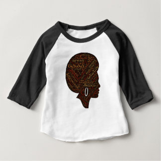 Camiseta Para Bebê attri da mulher