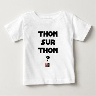 Camiseta Para Bebê ATUM SOBRE ATUM - Jogos de palavras - François