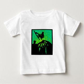 Camiseta Para Bebê Aumentação acima