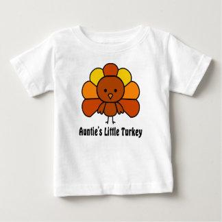 Camiseta Para Bebê Aunties pouca Turquia