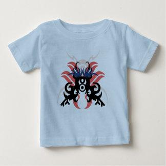 Camiseta Para Bebê Aura da abstracção três