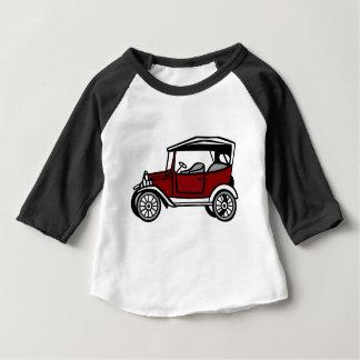 Camiseta Para Bebê Automóvel antigo velho do veículo do automóvel do