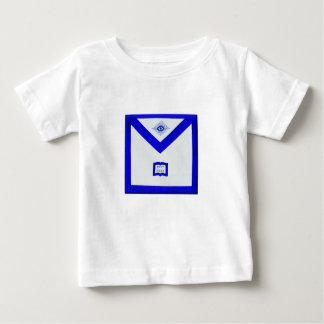 Camiseta Para Bebê Avental do capelão dos pedreiro