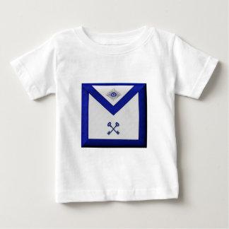 Camiseta Para Bebê Avental maçónico do tesoureiro