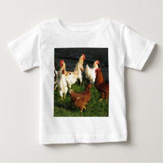 Camiseta Para Bebê Aves domésticas