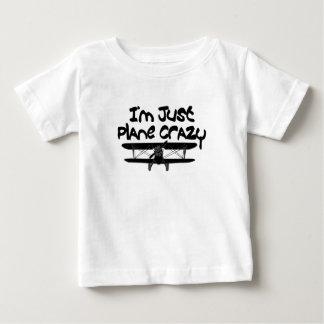 Camiseta Para Bebê avião engraçado
