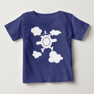 Camiseta Para Bebê Avião no céu