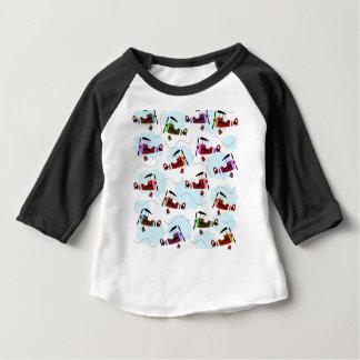 Camiseta Para Bebê Aviões