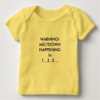 Camiseta Para Bebê Aviso! Fusão