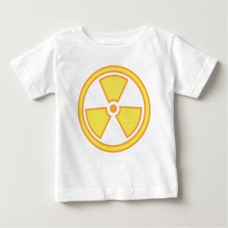 Camiseta Para Bebê Aviso radioativo