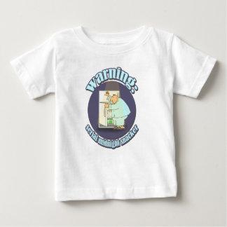 Camiseta Para Bebê Aviso: Snacker da meia-noite de série