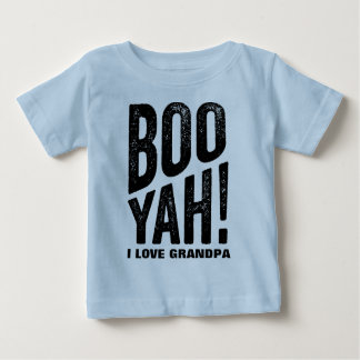 Camiseta Para Bebê Avó e vovô de Yah da vaia