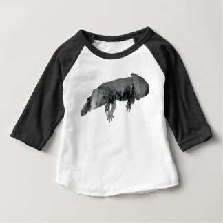 Camiseta Para Bebê Axolotl