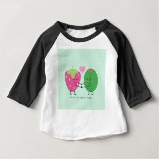 Camiseta Para Bebê Azeitona você baga muito