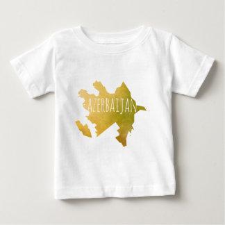 Camiseta Para Bebê Azerbaijan