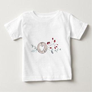 Camiseta Para Bebê Azevinho agradavelmente