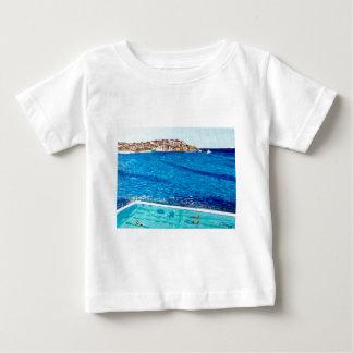 Camiseta Para Bebê Azuis de Bondi