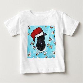 Camiseta Para Bebê Azul de Kerry Terrier