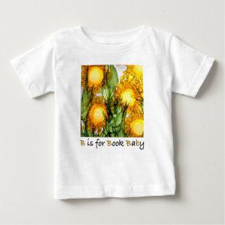 Camiseta Para Bebê B é para o Bebê-Jérsei T do livro