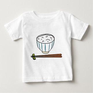 Camiseta Para Bebê Bacia de arroz japonesa