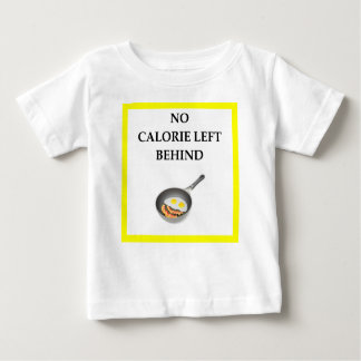 Camiseta Para Bebê bacon