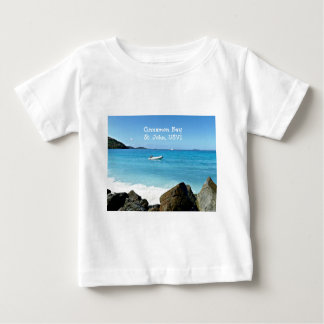Camiseta Para Bebê Baía da canela, St John USVI