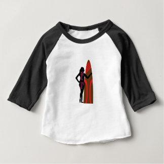 Camiseta Para Bebê Baía ocidental Florida