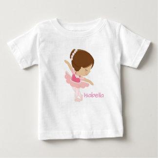 Camiseta Para Bebê Bailarina