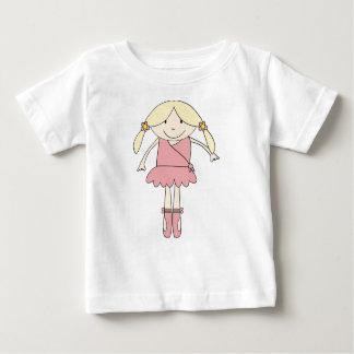 Camiseta Para Bebê Bailarina de Prima