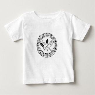 Camiseta Para Bebê Baixo bronze de DeSoto