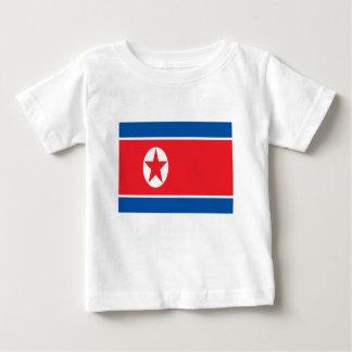 Camiseta Para Bebê Baixo custo! Bandeira da Coreia do Norte