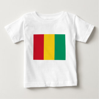 Camiseta Para Bebê Baixo custo! Bandeira da Guiné