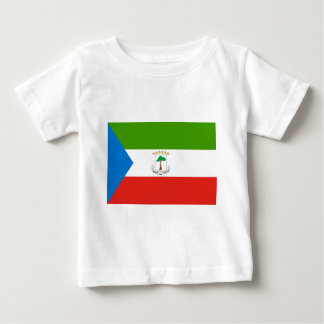 Camiseta Para Bebê Baixo custo! Bandeira da Guiné Equatorial