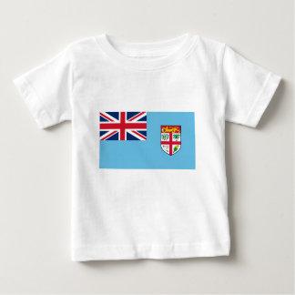 Camiseta Para Bebê Baixo custo! Bandeira de Fiji