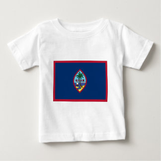 Camiseta Para Bebê Baixo custo! Bandeira de Guam