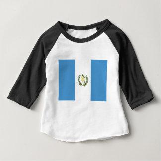 Camiseta Para Bebê Baixo custo! Bandeira de Guatemala